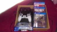Playstation 4 , Electronics, Sony playstation 4 w/2 controllers and 6 games, 2015, Everything is in fully functional condition still as if it were brand new comes with 6 video games and 2 controllers, hdmi cable, and power cord as well.