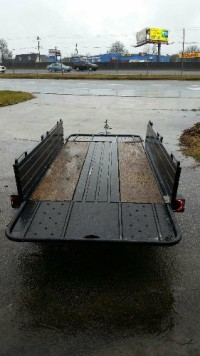 trailer, Tools, Equipment, 2007 snow bear trailer it's 4.5'