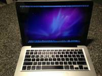 "2011 Macbook Pro, Macbook Pro it has 4 GB memory , 2.3 GHz Intel Core i5 processor, running OSX Mavericks and 13"" screen Gently used, Like new"