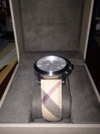 Burberry watch, bu9360, Like new