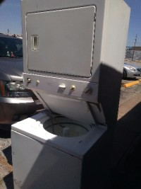 Sell or buy a used General Electric apartment size stacked washer ...