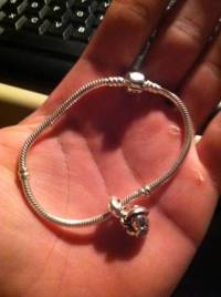 Pandora bracelet new charm, Pandora bracelet it has new charm , Like new