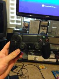 PS4 1 game 1 controller, PS4 with 1 controller, necessary cables and battlefield 4 like new, Like new