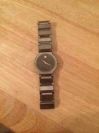 Movado men sapphire stainless stell watch, Men s mavado  sapphire stainless steel watch Model # 89.c7.1871 , Like new