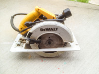 Dewalt DW364 Circular Saw, Dewalt DW364 Circular Saw, Used, worn
