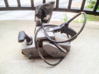 Porter Cable belt sander, Porter Cable belt sander with dust pickup - Model 362. NEEDS A DUST BAG!!!, Used, worn