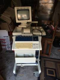 Sonogram, ultrasound, sonogram it has 4 transducers Gently used, Gently used