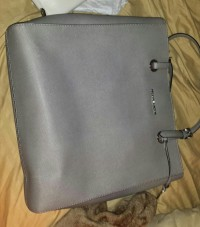 gray michael kors bag, Gray michael kors tote, New, still in box
