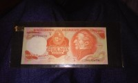 10,000 diez mil pesos, Foriegn paper currency (del Uruguay) uncirculated , Like new