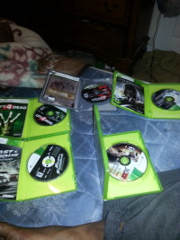 xbox games, Left 4 dead , fast and furious , WWE12, Gears of war , Dishonored, Gently used