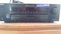 sony home  Theater stereo receiver, Sony black strk750p, Like new