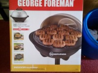 George Forman indoor outdoor grill, In the box brand new George Foreman indoor outdoor grill.