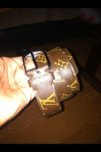 Louie Vuitton belt , Brown, belt