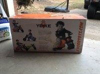 Ybike- green, Box has been opened but bike has not been used (still wrapped in plastic)