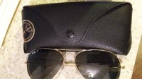 ray-ban sunglasses with case, Ray-bans with case. Good condition