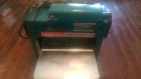 "makita 12"" portable planer, Makita. Portable planer model  2012"