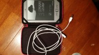 "Amazon Kindle 6"" E Ink Display 2GB, Wi-Fi, 6-in Graphite, Slightly used Kindle e-reader with case/cover and charger cord"