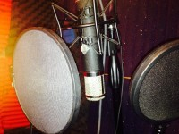 tele funken AK47 microphone, professional studio microphone and power supply as well as all the accesories