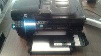 HP Officejet 4500 model 6510g, HP Officejet all in one printer, in good shape, power cord and usb cord with it