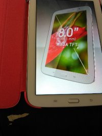 Samsung Galaxy One Note Tablet, White Galaxy Note 8.0 model #GT-N5110