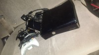 Xbox 360, Xbox 360 Slim 320 GB , 2 controllers with charger cards , xbox 360 HDMI card ,