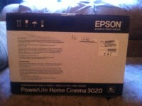 Epson Powerlite Home Cinema 3020, Epson Powerlite 3D Home projector still in box. Paid 1399.00 for it so please make me an offer.