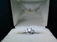engagement ring, Diamond engagement ring, New, still in box