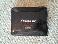 amplifier, Pioneer champion series GM-D8601 class D mono amplifier
