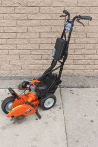 Tanaka TLE-600 50 CC Walk-Behind Edger, TANAKA TLE600 Lawn Edger Shaft-Drive Walk Behind Gas Shaft Type Solid Steel Shaft Length (In.) 6.3 Cutting Width (In.) 3 2 Stroke 50cc Engine 2.5 HP N/A 50cc Engine Displacement Fuel Tank Capacity (Oz.) 87 No Anti Vibration Handle 10 Blade Attachment/Replacement Line.