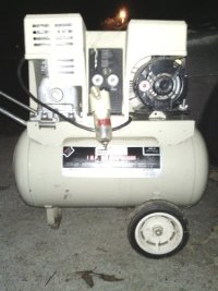 1 HP 12 Gallon Air compressor, 1 HP 12 Gallon Air Compressor