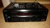 Stereo receiver, Sony stereo receiver str-de945. In like new condition. Includes remote and both antennas. Black.