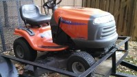 "husqvarna riding mower, Husqvarna YTH1842 riding mower/42""cut/18.5hp Briggs Stratton/182 yrs."