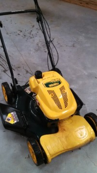 "Yard-Man Series 450 mower , Yard-Man Series 450 self-propelled mower/22""cut/139cc engine/side discharge-mulch"
