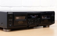 Sony Sound System, Sony STR-DE825 7.1 Channel Stereo Surround Home Theater Receiver Working  SONY TC-WE505 double cassette tape deck Dolby B/C HX pro HIGH Spec 99p NR  SONY CDP-C315 5 Disc Compact Disc Player