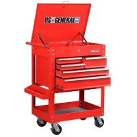 tool box, u.s. general 5 droor tool cart 700 pounds loading capacity