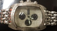 freeze watch, Its a stainless steel watch.filled withave diamonds