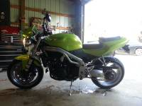 03 triumph speed triple 955i $4500obo, 2003 triumph speed triple 955i. under 13k miles, akrapovic exhaust, rear stand, diagnostics/tuning cable, integrated tail light, Like new