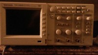 oscilliscope, Tektronix TDS Oscilliscope serial number TDS1002B C105264