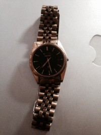 Watch, Seiko, gold, gently used, quartz, 226399