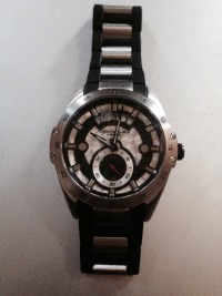 Watch, Kenneth Cole, stainless steel, s301-07