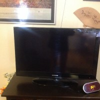 TV, Samsung 32 LCD.Serial#z44w3cpb703170h. Model #ln32d403e4d/ Xza. With remote. Bought and registered with Samsung 04/04/2012