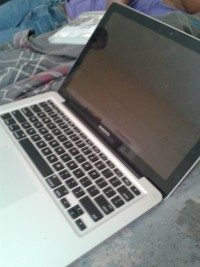 apple mac book pro 2010, Apple mac book pro made 2012 color silver and black, Gently used