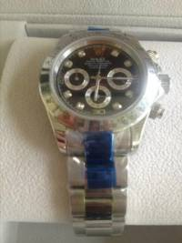 Rolex stainless steal / black ceramic, Watches are high quality rep comes with box and Rolex papers. , New, still in box