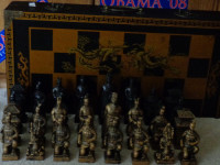 Chess Set, I purchase the set to play but no one seems to be interested to play with me anymore because they can't win.