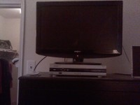 "A Pic of like brand  New 27"" inch TV, A insignia Like Brand New 27"" inch TV with remote control."