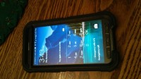 Cell Phone, At&t Samsung Galaxy S5 Active with otterbox case.  Never outside of case.