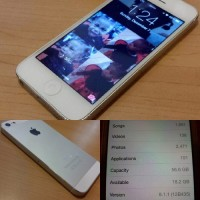 iPhone 5 WHT/64GB AT&T, AT&T iPhone 5 WHITE 64GB UNLOCKED with CLEAN IMEI NO CRACKS OR WATER DAMAGE.