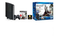 PS3 500 GB Assassin's Creed III Bundle, PS3 500 GB Assassin's Creed III Bundle, Game and controller