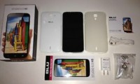 BLU Studio HD 6.0 smartphone, BLU Studio D650 white edition, excellent condition, GSM dual SIM unlocked smartphone.