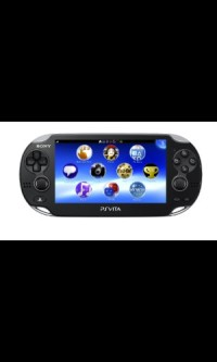 PS Vita, It has two games and a memory card. It has a case for it .I just got it when it first came out.